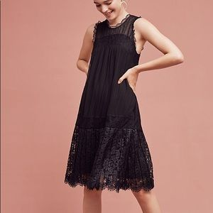 Anthropologie Floreat black dress